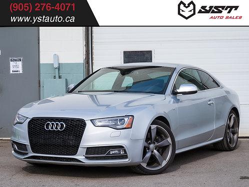 2014 Audi S5 V6T 6MT | AWD | Sunroof | Keyless | 166k KM