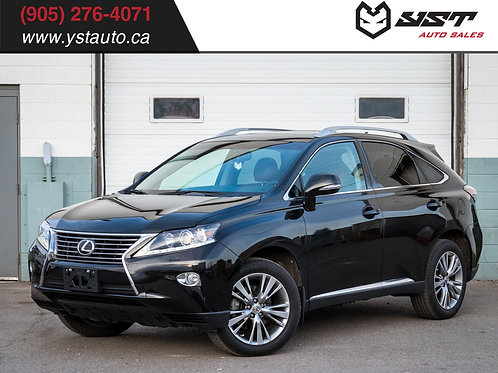 2013 Lexus RX350 22000KM | LOW KM | No accident |