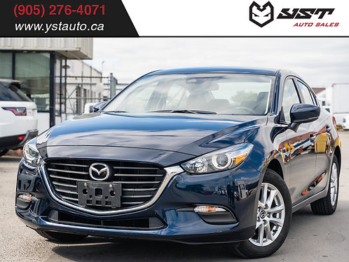 2018 Mazda3 GS AUTO | No accident| 1 Owner| Blind Spot| 24500km