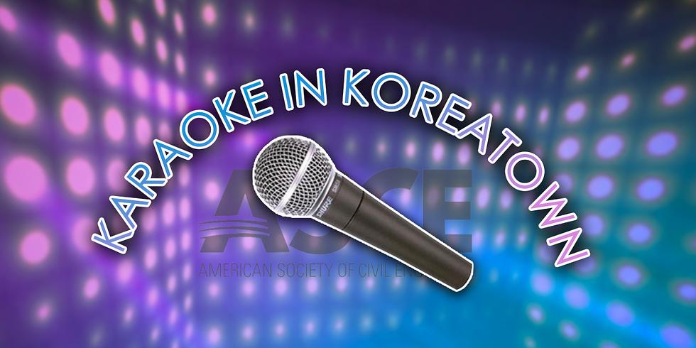 April Happy Hour - Karaoke in Koreatown