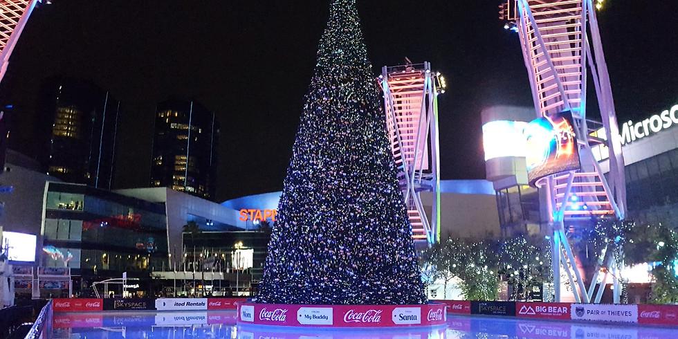 LA Kings Holiday Ice at Microsoft Square