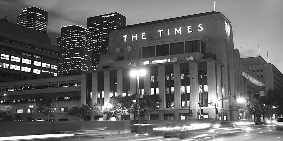 March Happy Hour - Tour of LA Times