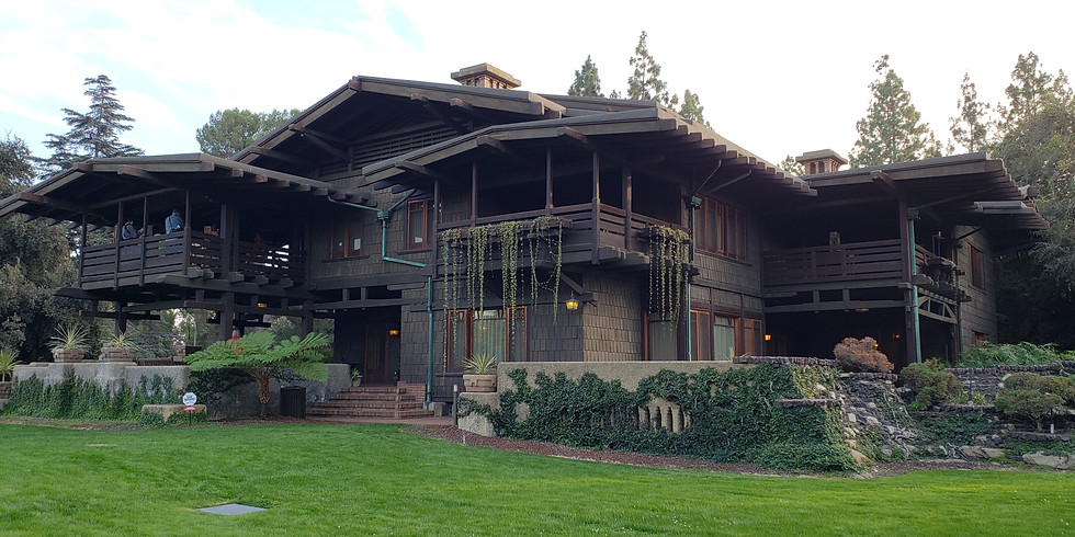 Gamble House Tour and Happy Hour