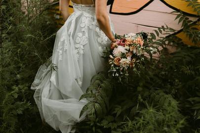 Photographer: North Wildflower Florals: Kenilworth Florals