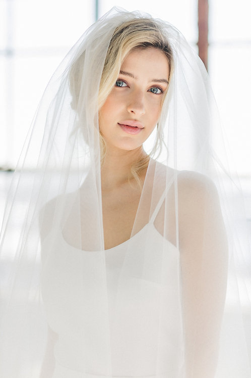 Two-Tier Walking Veil