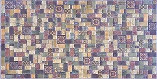 Мозаика Травертин лайм, мозаика регул, мозаика пвх, листовые панели