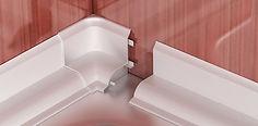 Бордюр для ванн, бордюры, лента для ванн, плинтус для ванн, плинтус для столешниц, профиль пвх, штапик, четверть, т-образный профиль, профиль для столешниц, наличник ПВХ, наличник на двери, наличник с кабель-каналом, обналичка