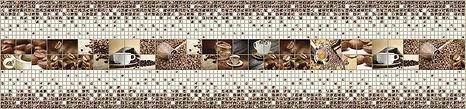 Панно, мозаика ПВХ, панели ПВХ, кофе