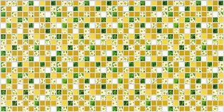 Мозаика Ромашка, мозаика регул, мозаика пвх, листовые панели