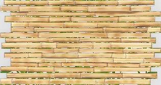 Бамбук Золотой, мозаика регул, мозаика пвх, листовые панели