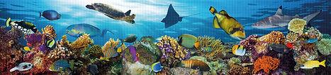 Панно, панели ПВХ, мозаика ПВХ, Подводный мир