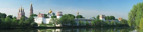 Панно, мозаика ПВХ, панели ПВХ, Новодевичий монастырь