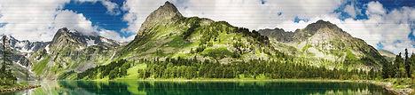 Панно, мозаика ПВХ, панели ПВХ, горное озеро