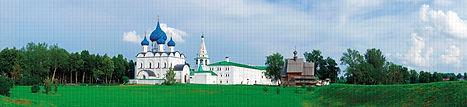 Панно, мозаика ПВХ, панели ПВХ, Суздальский кремль