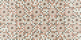 Мозаика Фиеста терракота, мозаика регул, мозаика пвх, листовые панели