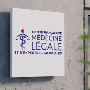 Création du logo Société française de médecine légale et d'expertises médicales