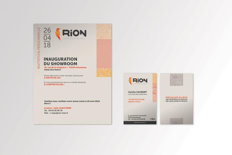 Charte graphique Rion Bois