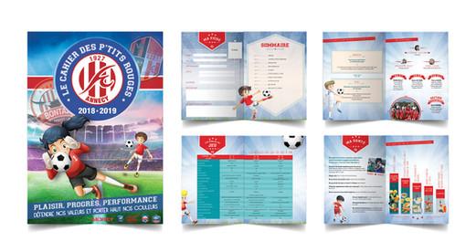 Le cahier des petits footballers
