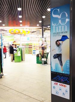 Centre commercial des Eaux Vives - Genève