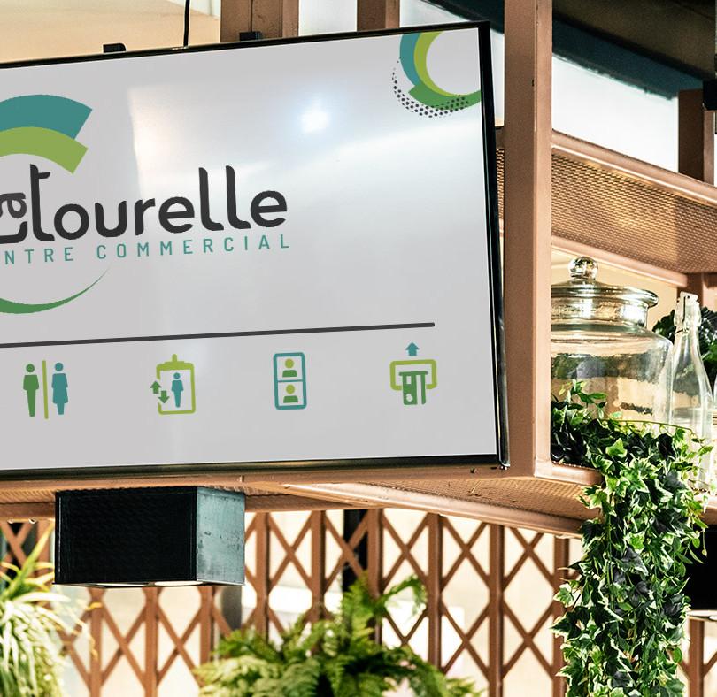 Centre commercial La tourelle - Genève