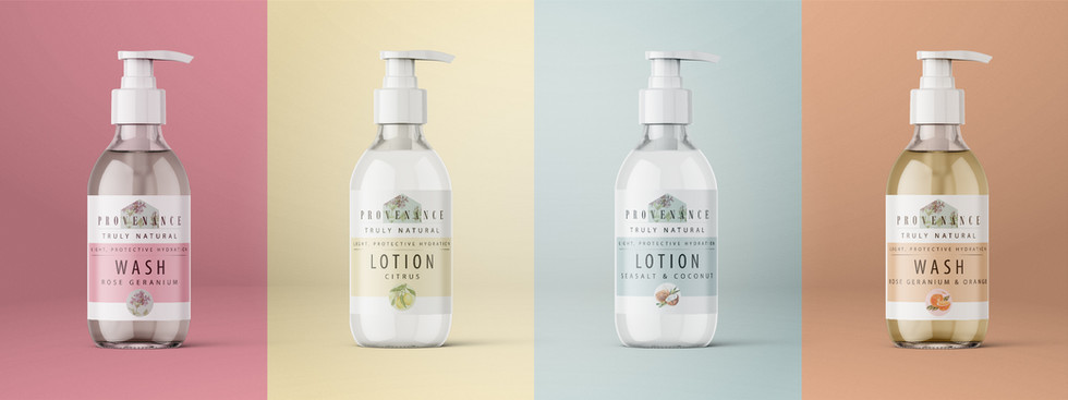 Packaging Design - Provenance
