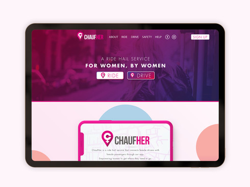 Website Design - ChaufHer
