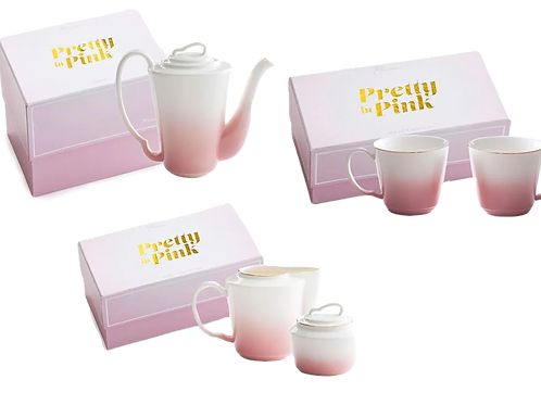 Pretty in Pink - Tea for 2