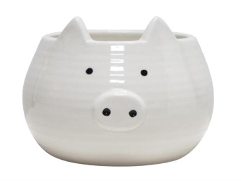 Piggy Ceramic Planter