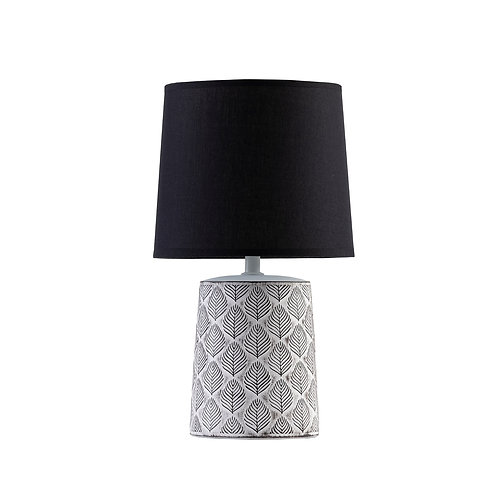 Leaf Lamp With Black Shade