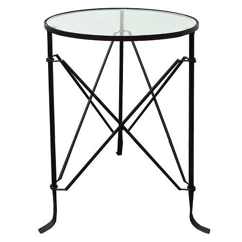 Villa Iron Table (Black)