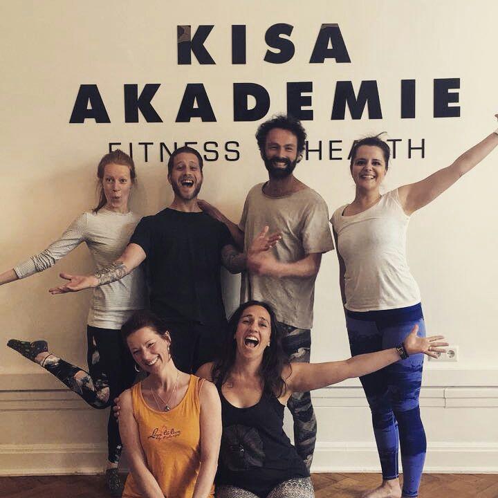 Absolventen der Yoga Ausbildung Januar - April 2018