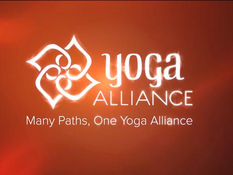 Yoga Alliance Zertifizierung