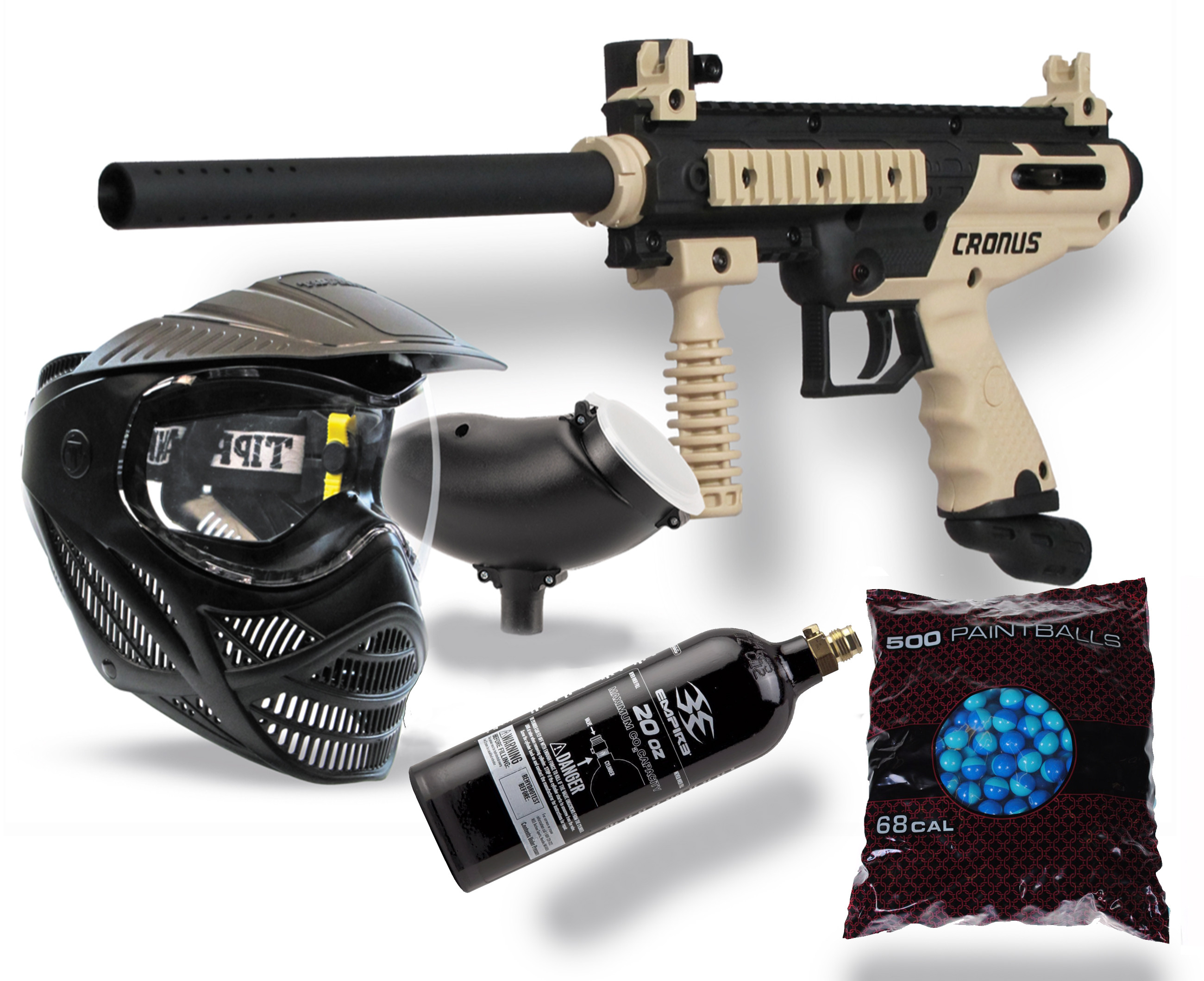 Paintball With Rental