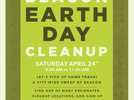 Earth Day Cleanup at JVF!