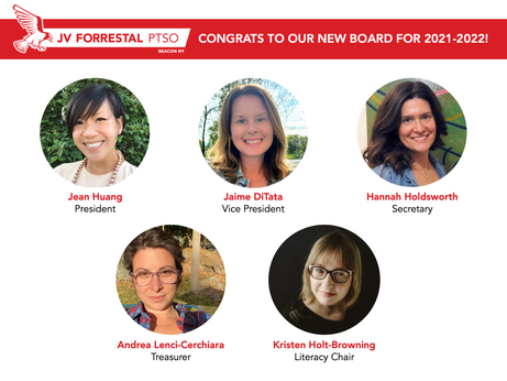 New PTSO Board Members Elected for 2021-2022