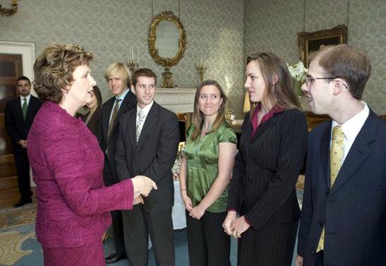 Mitchell Scholars Meet President McAleese_Dublin.jpg