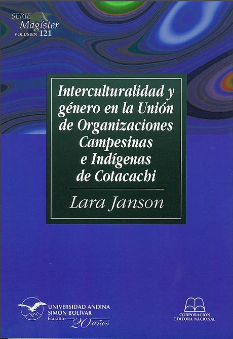 Interculturalidad y genero libro_Janson.