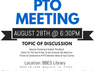 First general PTO meeting