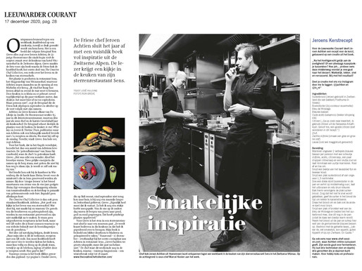 Article in the Dutch news Paper The Leeuwarder Courant