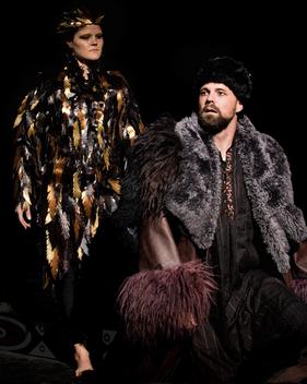 "Ana Hagedorn and Luke Longacre in ""The Iphigenia Project"""