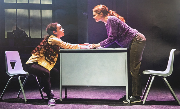 """Tia Laulusa and Lindsay Ryan in """"This Sweet Afflication"""""""
