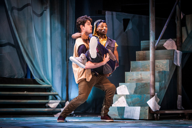 """Yusef Seevers in """"Rosencrantz and Guildenstern are Dead"""""""