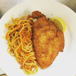 Quick and easy #chickenmilanese #homemad