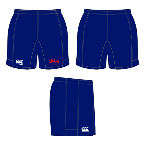 WHS Junior Navy Blue Rugby Shorts