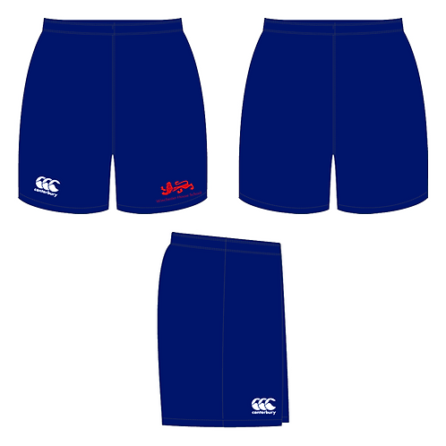 WHS Navy Blue Tech Shorts