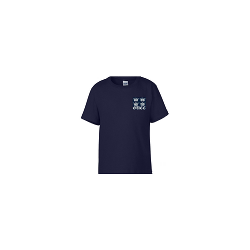 OUCC Ladies Generic Navy Tee