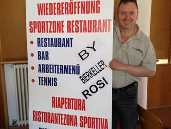 Neueröffnung der Sportbar