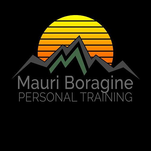 Mauri Boragine Personal Training, Black Background