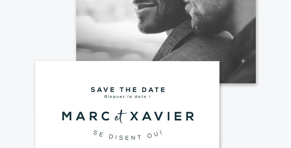 Save the date - Amour encré