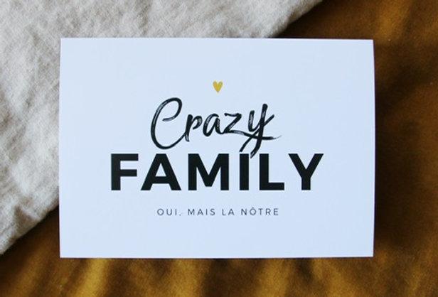 Carte - Crazy family